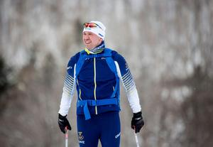 Svegbon Lars Selin har jobbat med herråkarna under två säsonger. Bild: Christine Olsson/TT
