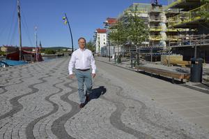 Olof Nyberg, vd på Norra kajen. Han har märkt av att trenden ändrats.