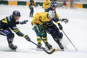 Falun kryssade mot Ljusdal på bortaplan .