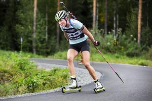 Hanna Öberg är en av guldfavoriterna under skidskytte-SM i Sollefteå.