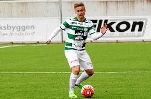 Dennis Persson fick mer speltid än planerat.