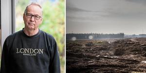 Horndalsgruppens ordförande Bengt Holmertz är orolig över att sjön Rossen inte är tillräckligt stor för att klara av att kyla en så stor anläggning som ska byggas. Bilden är ett montage.