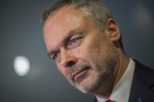 Tar ton i viktig fråga, Liberalernas partiledare Jan Björklund. Foto: Hossein Salmanzadeh / TT.