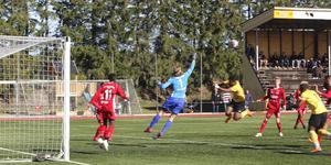 Derby mellan Heby AIF och Sala FF.