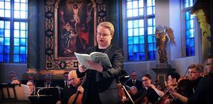 Eskil Lindbäck ersatte en sjuk David Saulesco i tenorstämman.