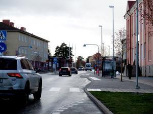 Att Nynäsvägen blir säkrare för cyklister är bra, menar insändarskribenten. Foto: Privat