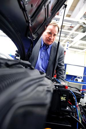IF Metalls förbundsordförande Stefan Löfven besökte Electroengine i Gävle på onsdagen. Några medlemmar fanns dock inte kvar – de som fanns slutade i måndags som ett första steg i att företaget lämnar staden.