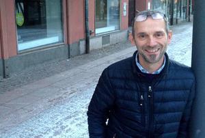 Mikael Hartmeier gläds åt ett stort etableringsintresse i Borlänge centrum.