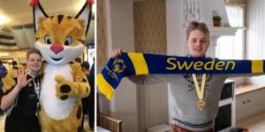Walle Wallström från Ljusdal var en av deltagarna när Special Olympics Invitation Games arrangerades i Östersund tidigare i månaden.