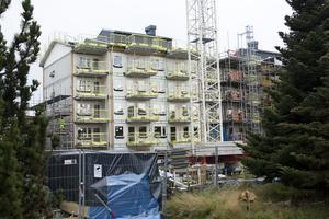 Det blir en rejäl rotation på bostadsmarknaden i Säter när de nya lägenheterna bakom Willys är klara.