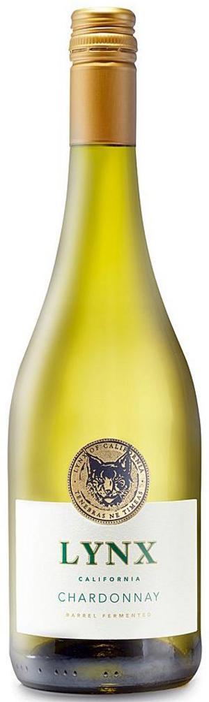 Lynx Barrel fermented Chardonnay .