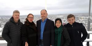 Moderata Företagarrådet i Örnsköldsvik ska vända trenden i Ö-viks företagsklimat. Det består av: Lars Näslund (M), Marianne McHardy (M) Roger Näslund (M) ordförande i Moderata Företagarrådet, Jeanette Karlsson (M), Felix Fröhlander MUF.