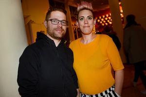Jens Näsman och Jeanette Sundeborn såg Uno Svenningsson för andra gången i Tonhallen.