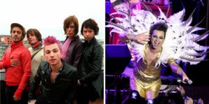 The Ark var trogna sin ursprungliga image genom hela sin karriär, även om formen och färgen på glamouren skiftade för varje ny turné som bandet gav sig ut på.