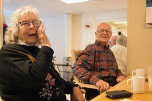När Ella Palmkvist avslöjar sin ålder får Veijo Kärkkäinen inte höra siffran.