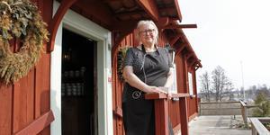 – Det har varit så roligt att driva restaurangen här, säger Louise Biloff som nu stänger dörren efter åtta år.