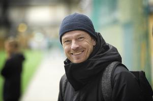 Tony Gustavsson på besök under en GIF-träning i vintras.