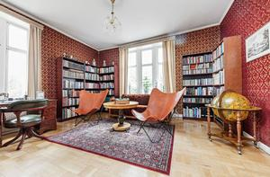 Foto: Elin Wiewgg/ RE-Mediagroup. Interiör från huset Lanna Borgen.