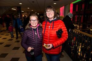 Sofie och Ulrica Johansson från Nordmaling.