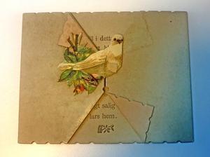 En av Maikens många favoriter är detta vikta kort, med budskapet på insidan.