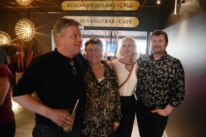 Robert Forsberg, Maria Frölen, Helena Svensson och Hasse Larsson från Härnösand.