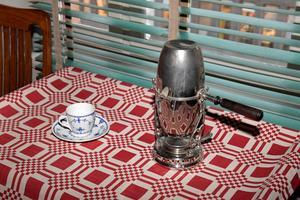 August Strindberg bryggde sitt eget morgonkaffe, men det var också den enda matlagningen som gjordes i lägenheten som saknar kök.Janerik Henriksson/TT