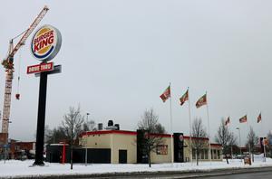 Burger King etablerade sig i Gävle 2015. Restaurangen blev Burger Kings första i Gästrikland.
