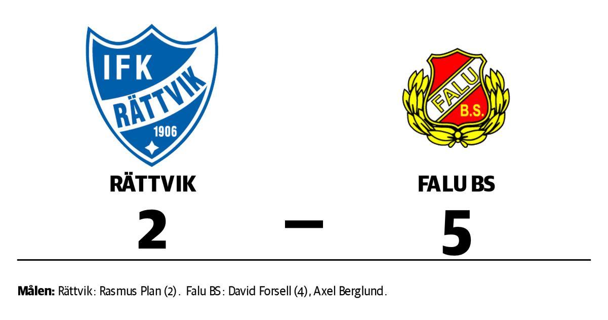 Falu BS kvalklart efter seger mot Rättvik