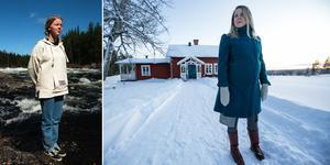 Redan 1996 poserade en då 15-årig Kristina Ernehed vid Långforsen, nästan 25 år senare tycker hon det är skönt att det blir ett avslut.