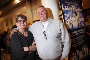 Annica och Ulf Lundin från Matfors beskriver sitt förhållande till Lasse Stefanz som