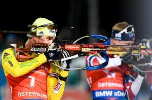 Fredrik Lindström blev bäste svensk i sprinten i Holmenkollen. Bilden är från ett tidigare tillfälle.