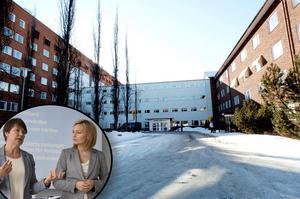 Ebba Busch Thor lovar Mora BB åter vid en valvinst.Foto: Kjell Jansson/Mats Laggar/Montage