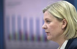 Magdalena Andersson (S), finansminister. Foto: Janerik Henriksson/TT