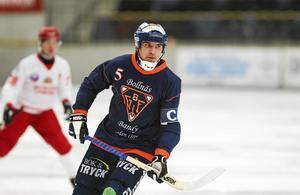 Andreas Westh blev syndabock för Bollnäs när han orsakade en straff i slutskedet av matchen mot SAIK. Efteråt är han kritisk mot domslutet, men är samtidigt inte alltför besviken på Bollnäs insats.