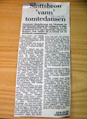 Varför lilla Slottsbron blev så bra på bandy? Hasse Pettersson, en av Slottsbrons guldmedaljörer, svarar