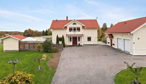 Denna villa i Tylla i Borlänge finns på tredje plats. Foto: Patrik Persson