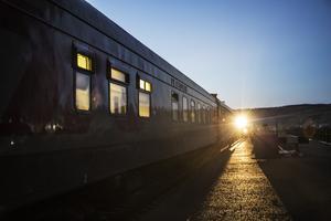 Transsibiriska järnvägen, som går från Moskva till Peking. Foto Martina Holmberg / TT