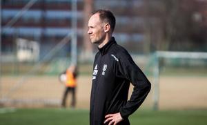 Jörgen Nyberg hade en del att fundera på efter att BK30 tappat en sen 2–0-ledning.
