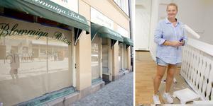 Eja Lundin har under 20 års tid varit kund hos Blommiga rutan. Nu tar hon över butiken som nu får namnet Picko.
