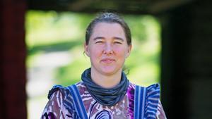 Gertrud Germeys tror på en bra sommar och berättar att de redan ser många utvecklingsmöjligheter med Gammelgården.
