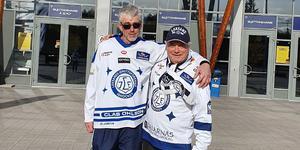 Bernt Lindgren och Roger Magnusson klarade av att promenera från Borlänge till Leksand.
