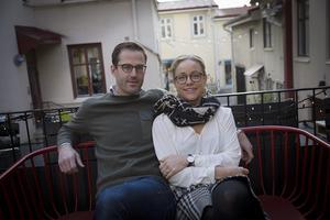 Staffan Kjellberg och Mari Nilsson är två av Östersunds nya invånare.
