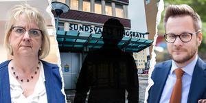 Flera personer greps inledningsvis – nu har en man i 30-årsåldern häktats. Kammaråklagare Catharina Kjelsson är förtegen. Advokaten Jakob Lindgren berättar att hans klient förnekar brott.