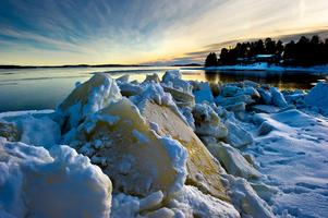 Möjligheten att vårda havsmiljöer ökar med de nya pengarna till länet. Foto: Leif Wikberg.
