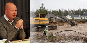 Mer tomtmark för villabebyggelse är viktigt om Ljusdal ska kunna växa, hävdar kommunchef Nicklas Bremefors.