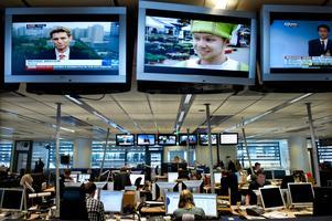 Journalisternas arbete på redaktionerna är under förändring. Foto: Claudio Bresciani /TT