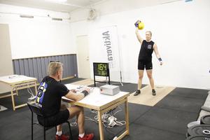 Under helgens tävling lyckades Linnéa Engblom, som tävlar för Fysiocenter kettlebell club med 217 repetitioner med 16 kilo.