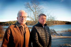 Bo Ekander och Stefan Hallberg jobbar båda hemifrån och är beroende av sin fasta telefoni som legat nere sedan 1 december.