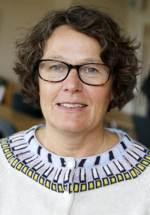 Maria Press är ordförande i Fornskriftssällskapet Jämtland och också landsarkivarie vid Landsarkivet i Östersund.