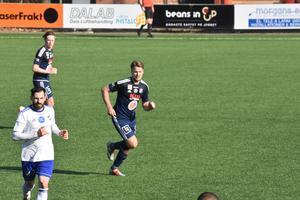 Emil Hjälte blev tvåmålsskytt för Kvarnsveden på långfredagen.